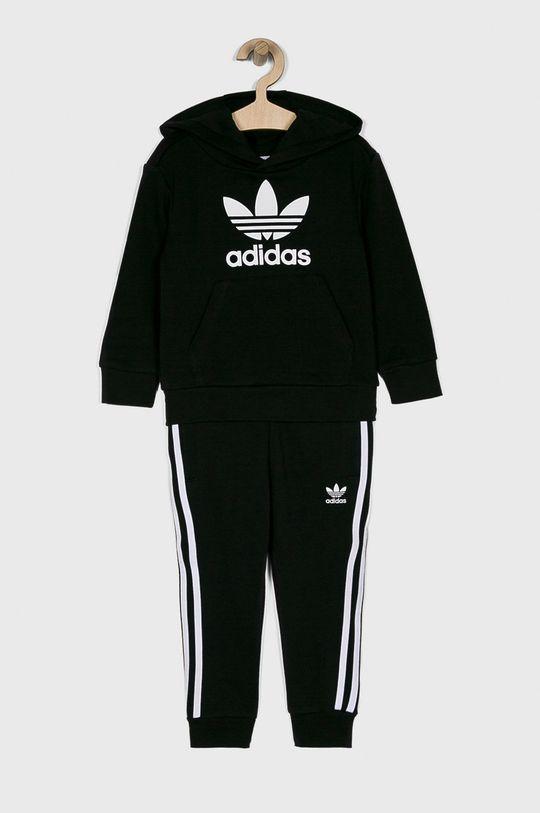 čierna adidas Originals - Detská tepláková súprava Chlapčenský