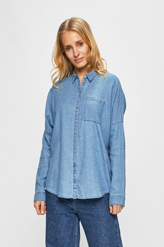 albastru Review - Camasa jeans De femei