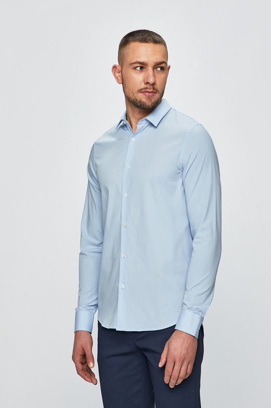 modrá Calvin Klein Jeans - Košile Pánský