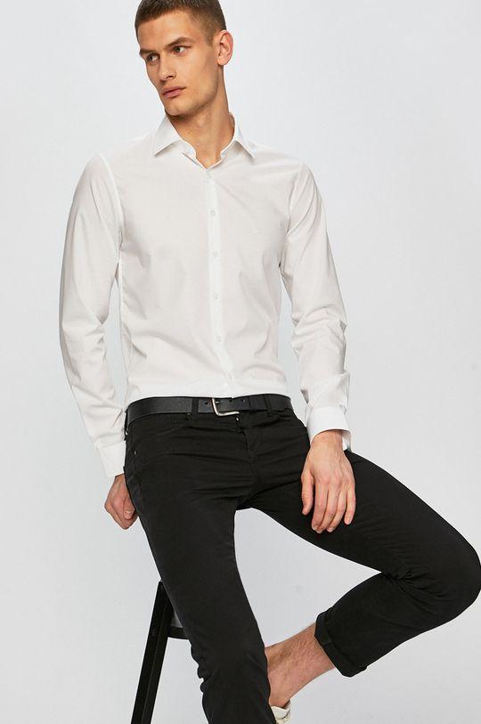 Calvin Klein - Košile Hlavní materiál: 98% Bavlna, 2% Elastan
