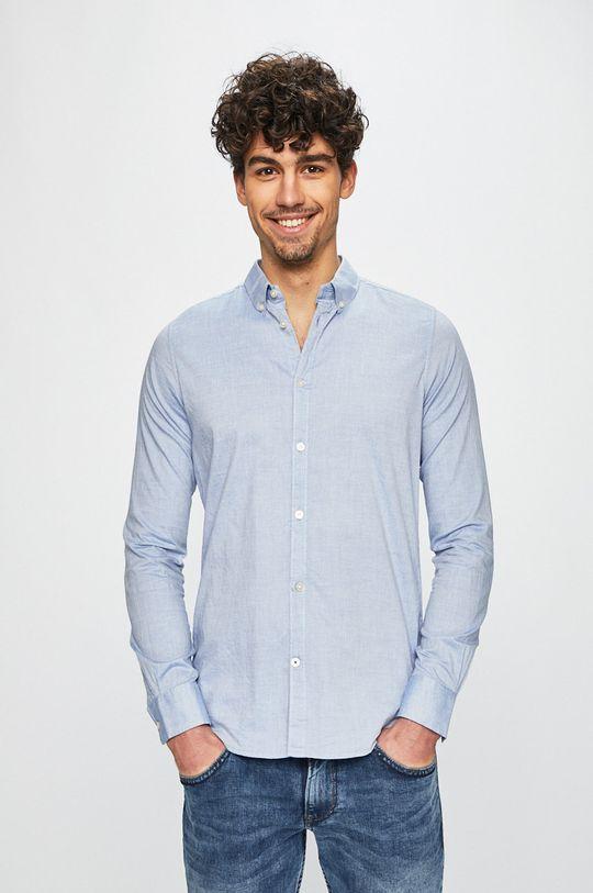 niebieski Tom Tailor Denim - Koszula Męski