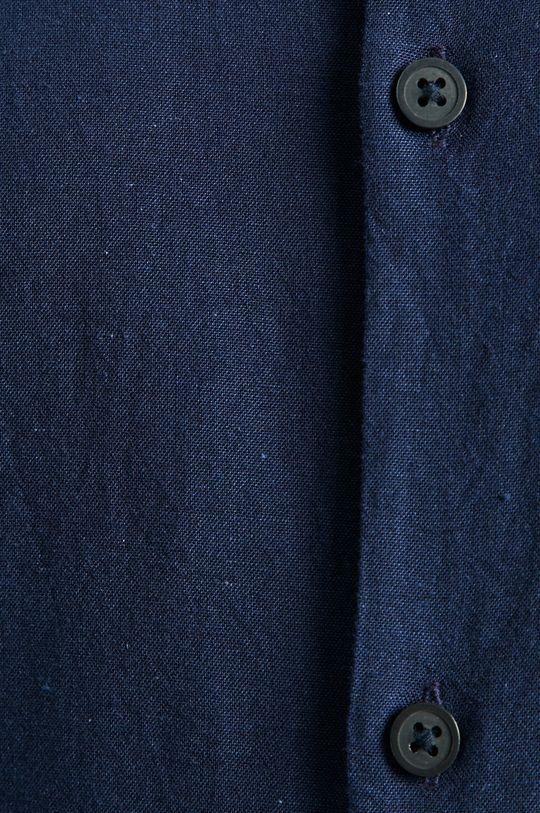 Selected - Koszula granatowy
