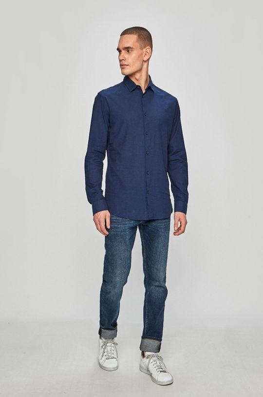 Selected - Koszula Materiał zasadniczy: 15 % Len, 85 % Bawełna,