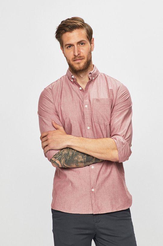 červená Produkt by Jack & Jones - Košeľa Pánsky