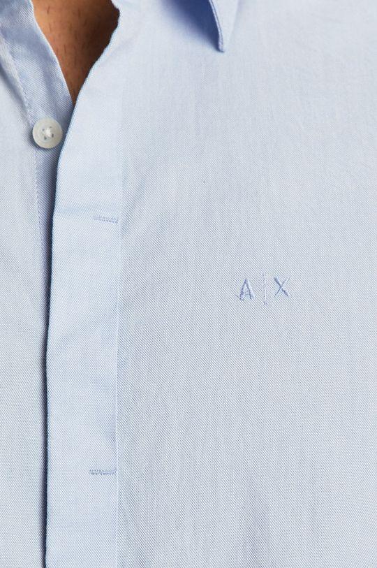 Armani Exchange - Koszula niebieski