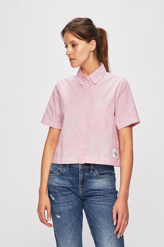 roz Calvin Klein Jeans - Camasa De femei