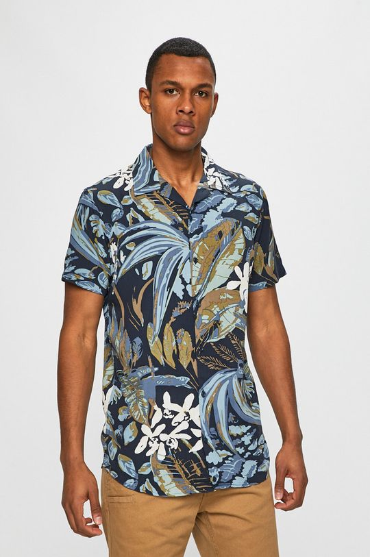 tmavomodrá Produkt by Jack & Jones - Košeľa Pánsky
