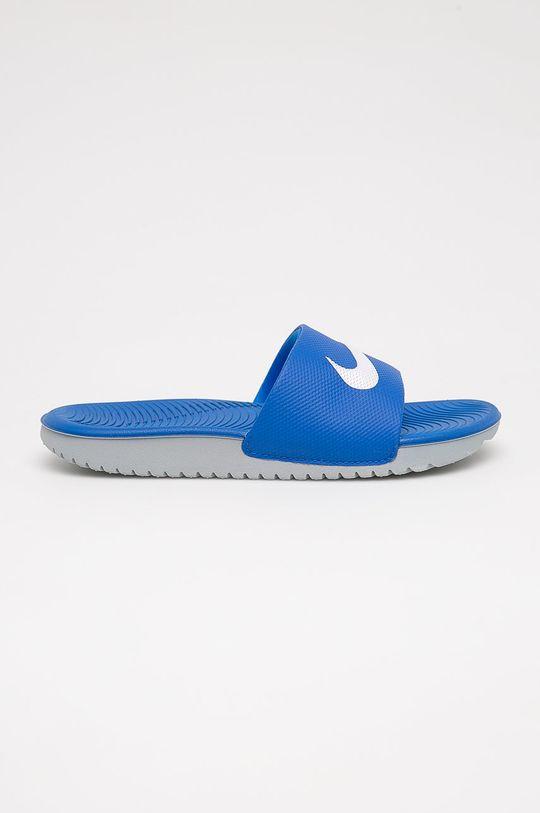 niebieski Nike Kids - Klapki dziecięce Kawa Chłopięcy