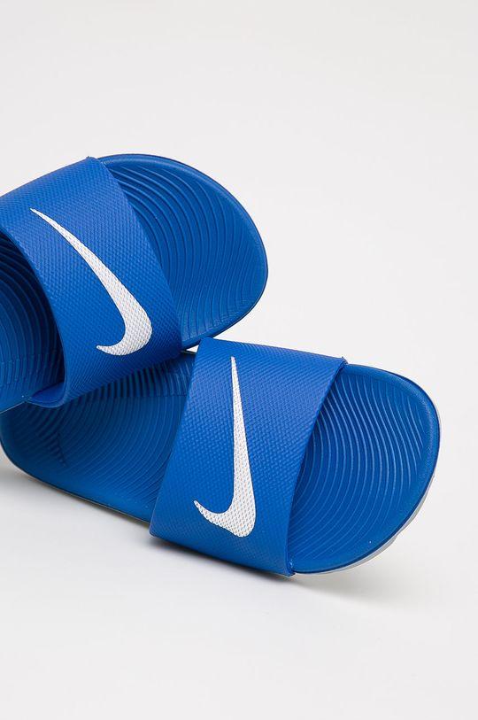 Nike Kids - Klapki dziecięce Kawa niebieski