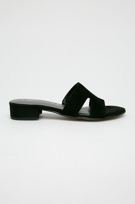 čierna Tamaris - Šľapky Dámsky
