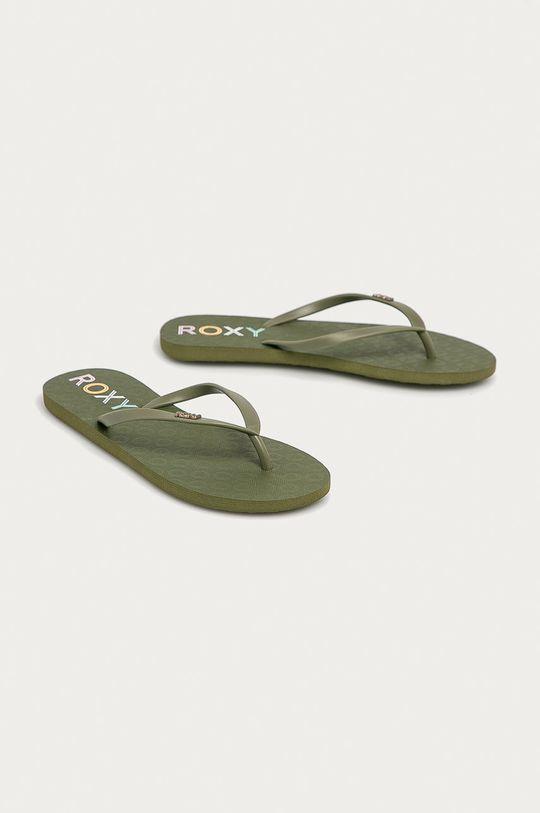 Roxy - Japonki jasny oliwkowy