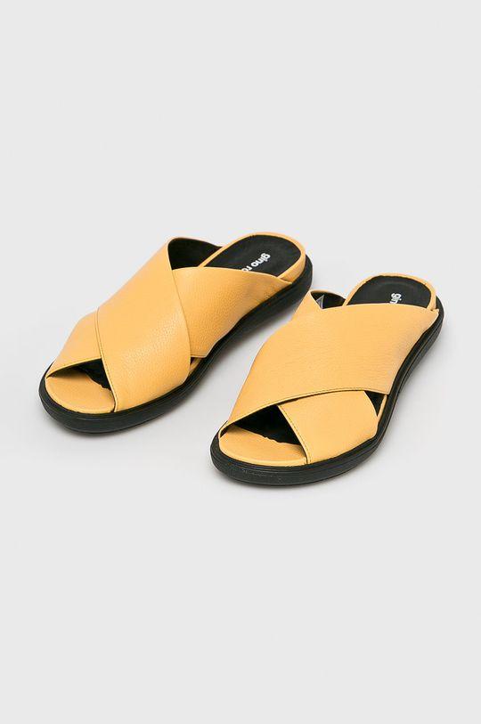 Gino Rossi - Papucs cipő Ren sárga