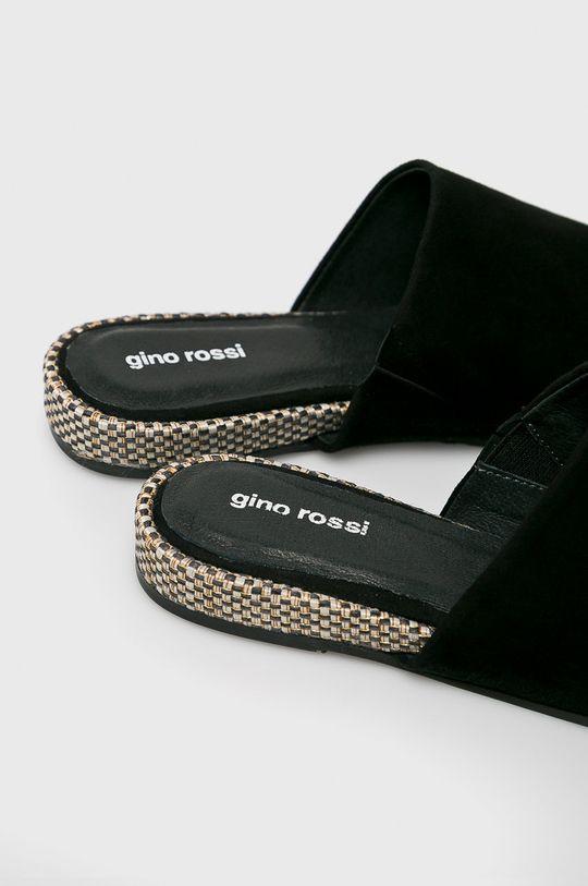 Gino Rossi - Papucs cipő Juli  Szár: természetes bőr Belseje: természetes bőr Talp: szintetikus anyag