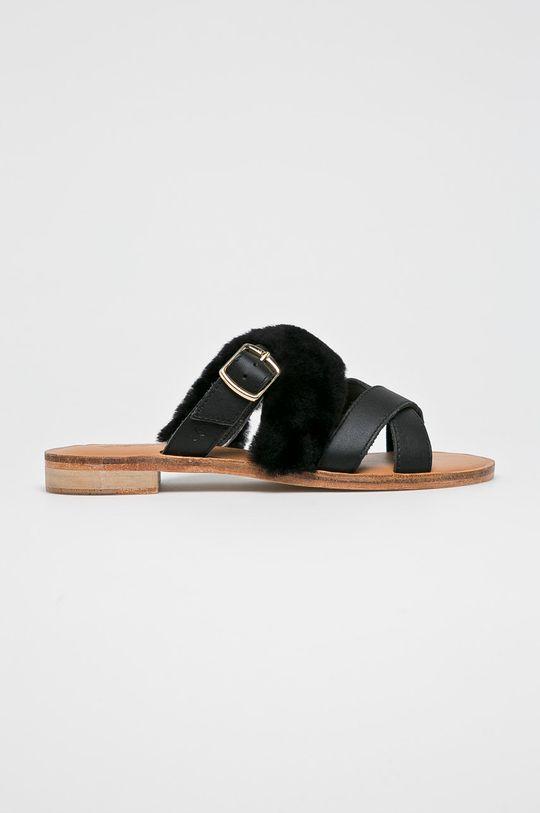 černá Emu Australia - Pantofle Dámský