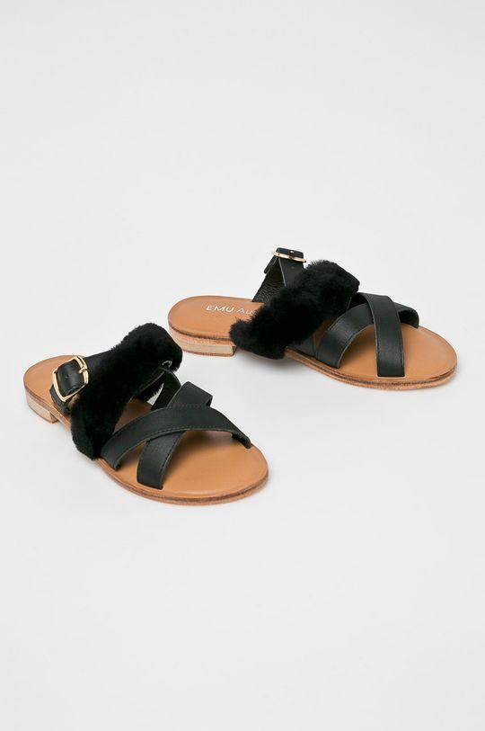Emu Australia - Pantofle černá
