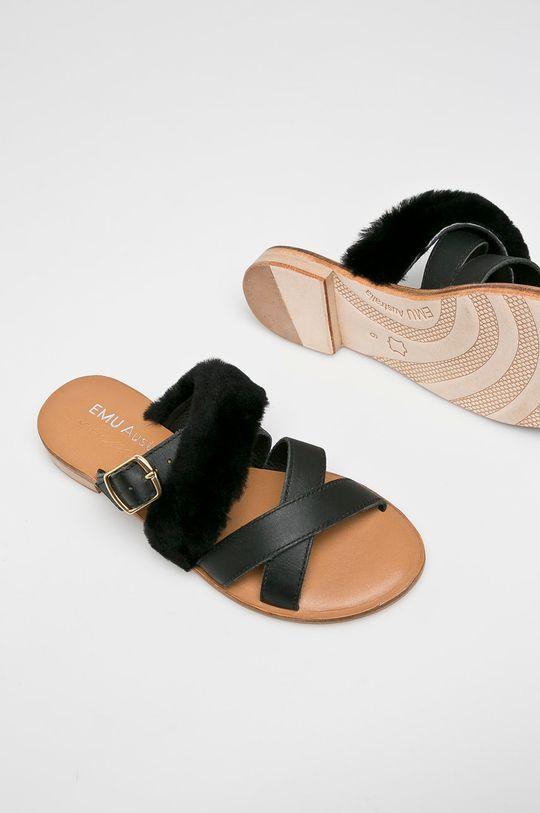 černá Emu Australia - Pantofle