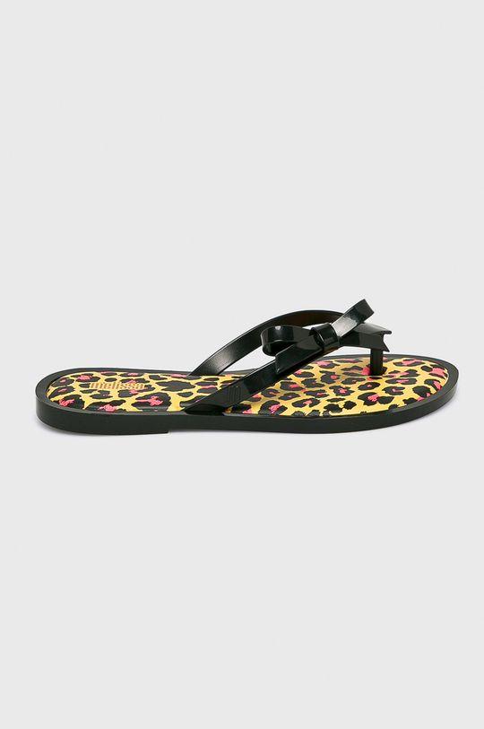 čierna Melissa - Žabky Flip Flop Animal Dámsky