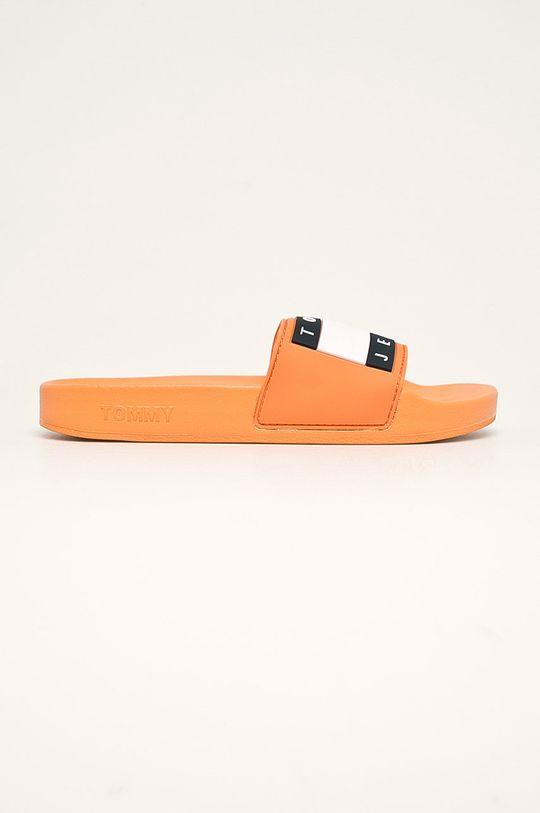 pomarańczowy Tommy Jeans - Klapki Damski