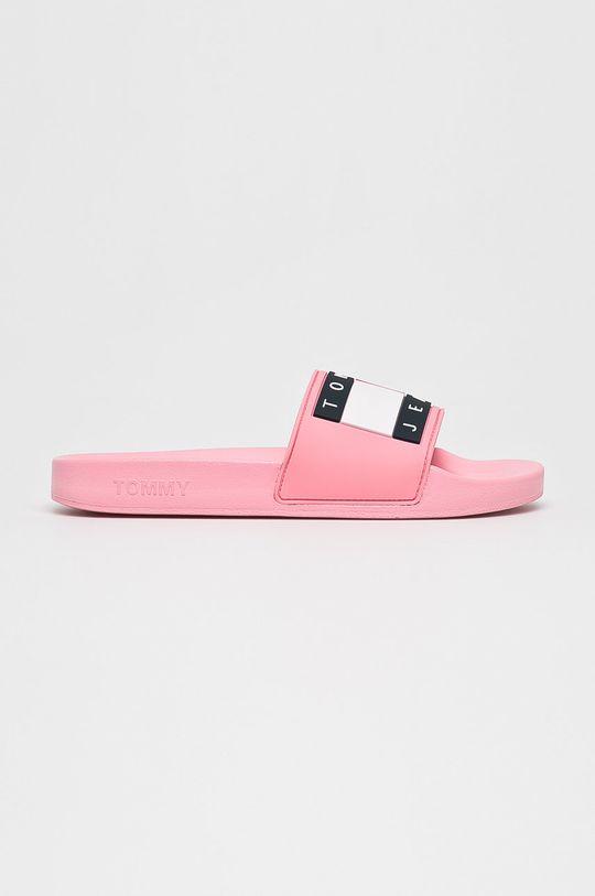 rózsaszín Tommy Jeans - Papucs cipő Flag Pool Slide Női
