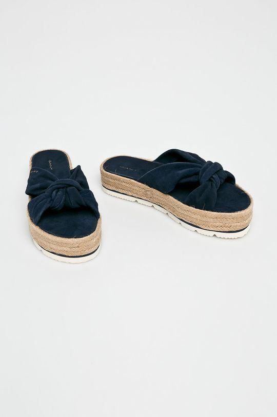 Gant - Papucs cipő Cape Coral sötétkék