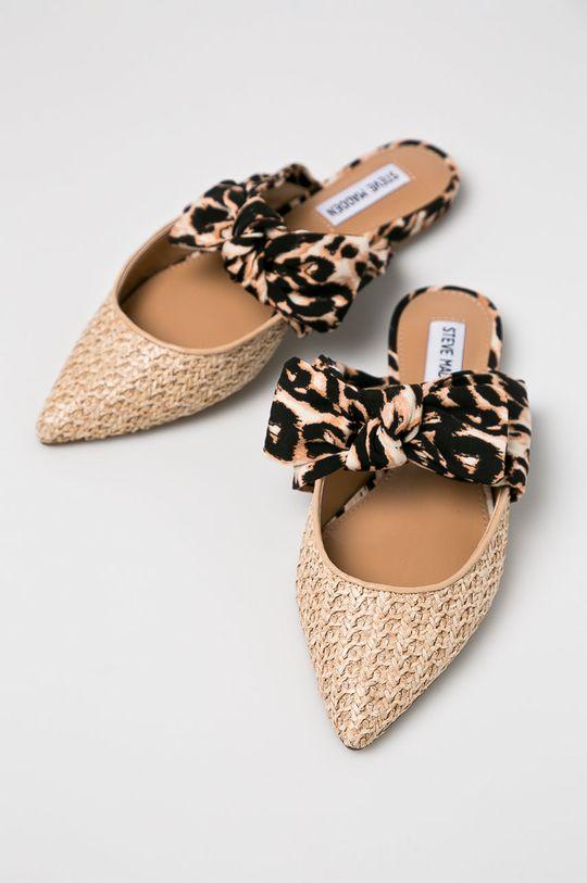 Steve Madden - Papucs cipő Emika aranybarna