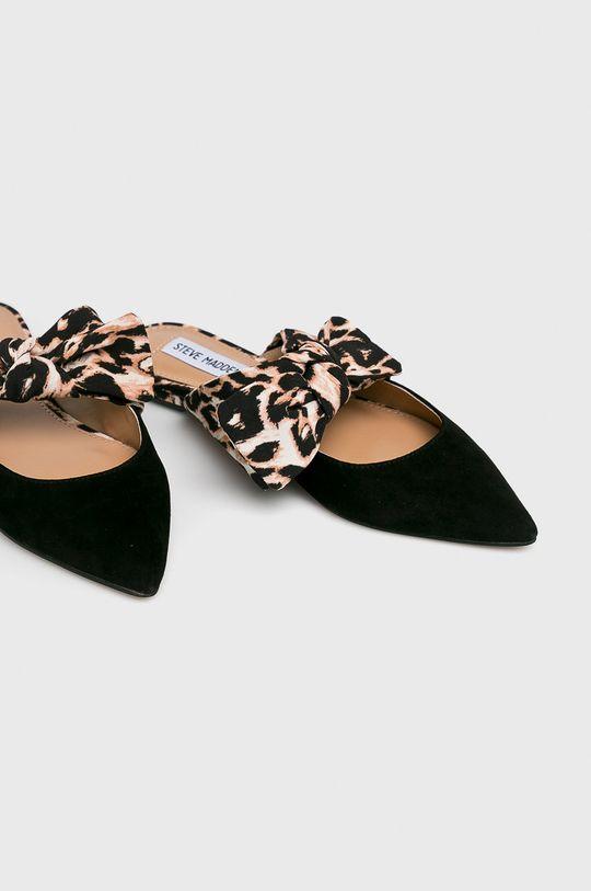 Steve Madden - Papucs cipő Emika fekete
