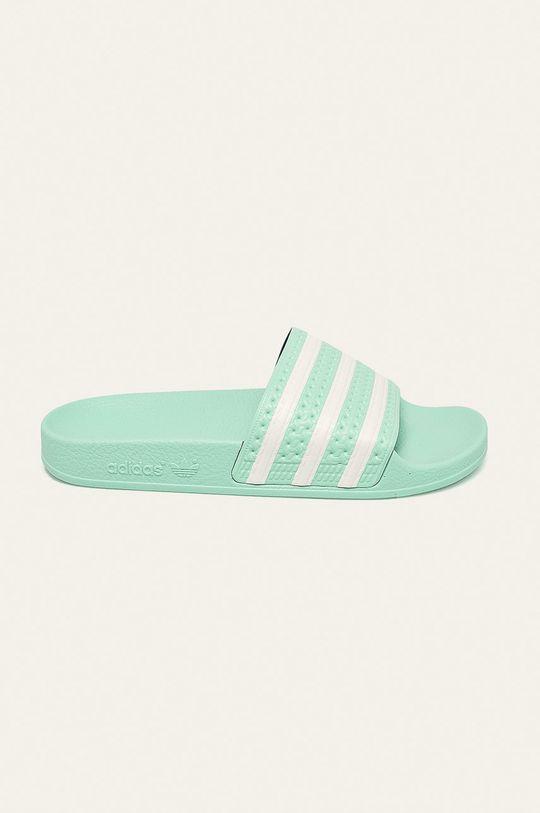 světle zelená adidas Originals - Pantofle Dámský