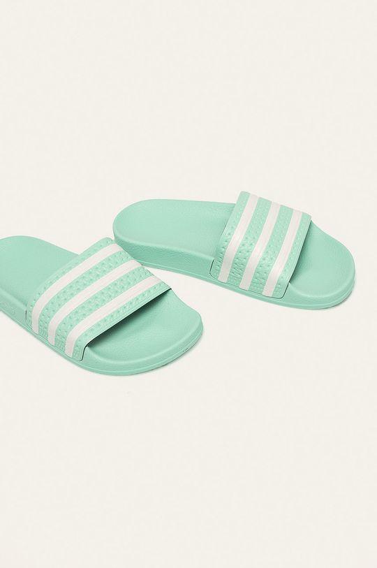 adidas Originals - Pantofle světle zelená