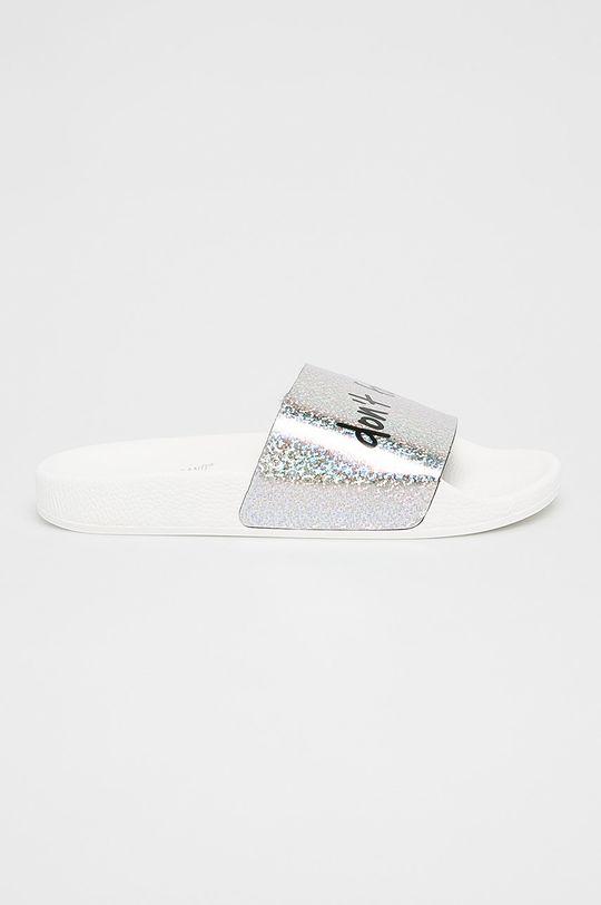 argintiu TheWhiteBrand - Papuci De femei