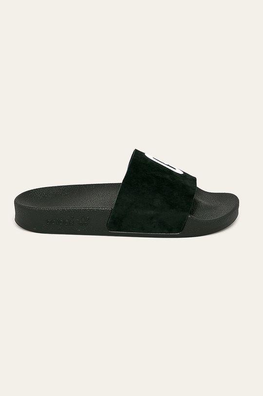 černá adidas Originals - Pantofle Dámský