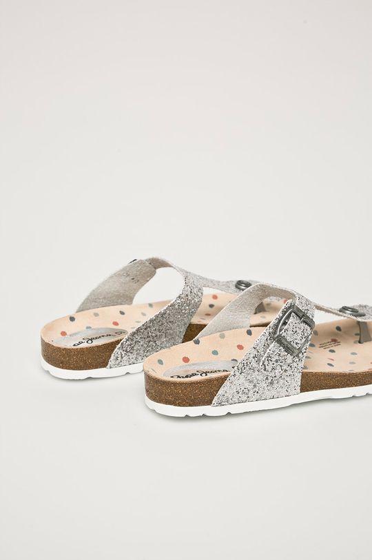Pepe Jeans - žabky Svršek: Umělá hmota Vnitřek: Textilní materiál, Přírodní kůže Podrážka: Umělá hmota