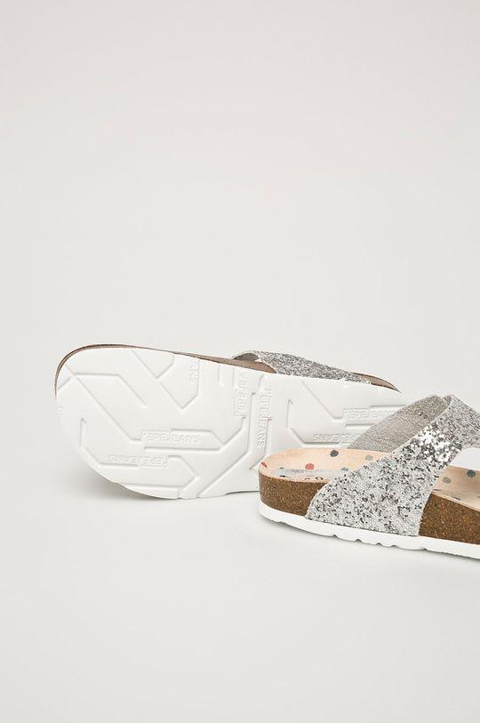 stříbrná Pepe Jeans - žabky