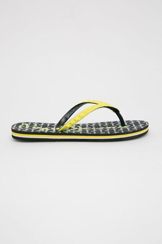 žlutá Pepe Jeans - žabky Dámský