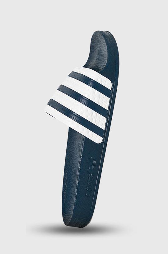 tmavomodrá adidas Originals - Šľapky