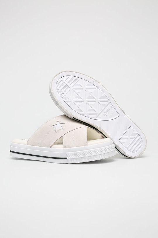 Converse - Šľapky krémová