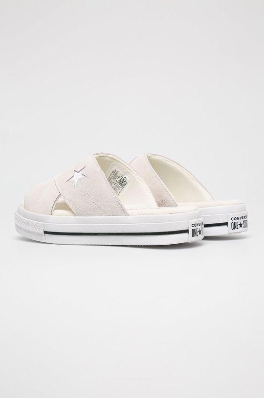 krémová Converse - Šľapky
