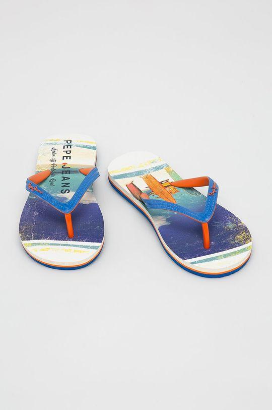 Pepe Jeans - žabky modrá