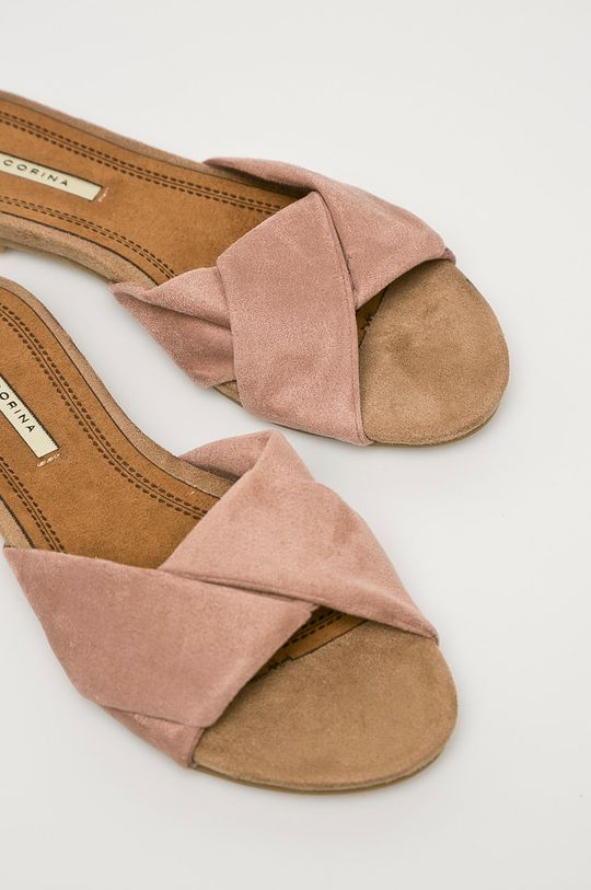 Corina - Papuci Gamba: Material textil Interiorul: Material textil Talpa: Material sintetic