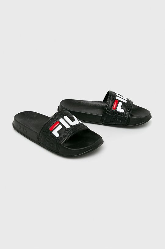 Fila - Papucs cipő Boardwalk Slipper fekete
