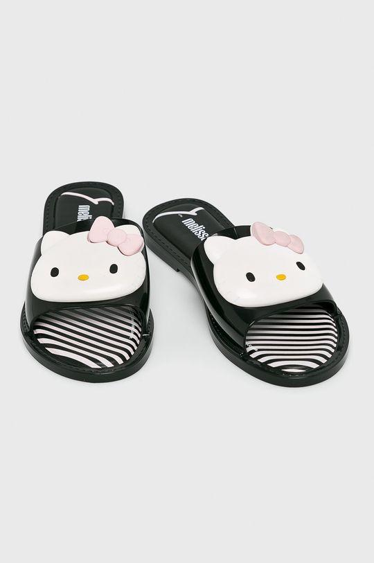 Melissa - Papuci Hello Kitty negru