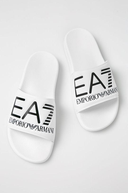 EA7 Emporio Armani - Pantofle bílá