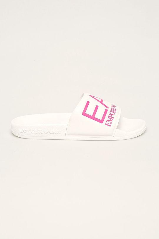 roz EA7 Emporio Armani - Papuci De femei