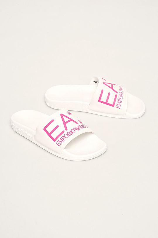 EA7 Emporio Armani - Pantofle růžová