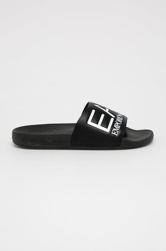 černá EA7 Emporio Armani - Pantofle Dámský