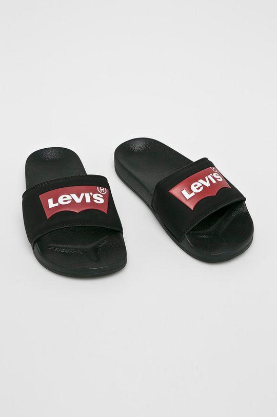 Levi's - Šľapky čierna