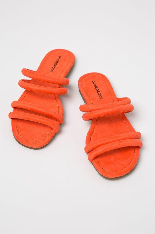 Glamorous - Papuci portocaliu