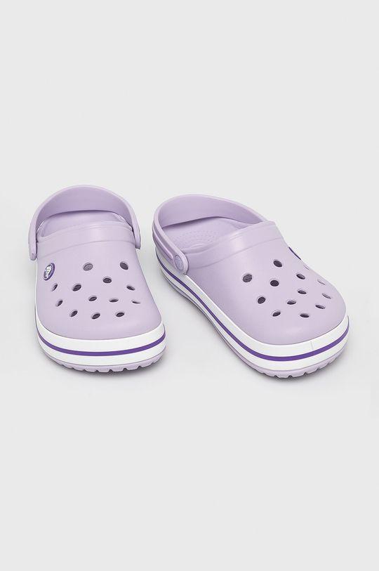 Crocs - Klapki lawendowy