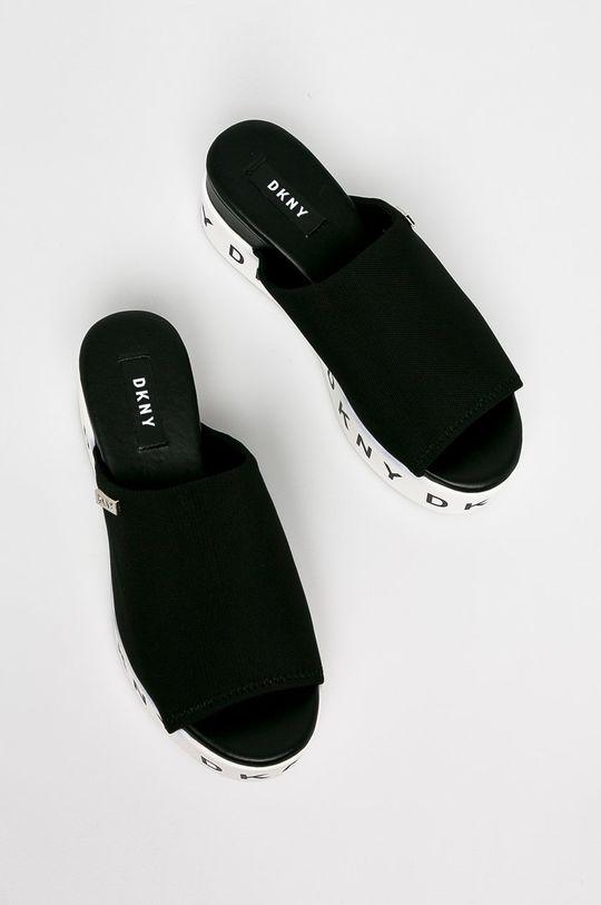 Dkny - Papucs cipő Carli-Slide Sandal fekete