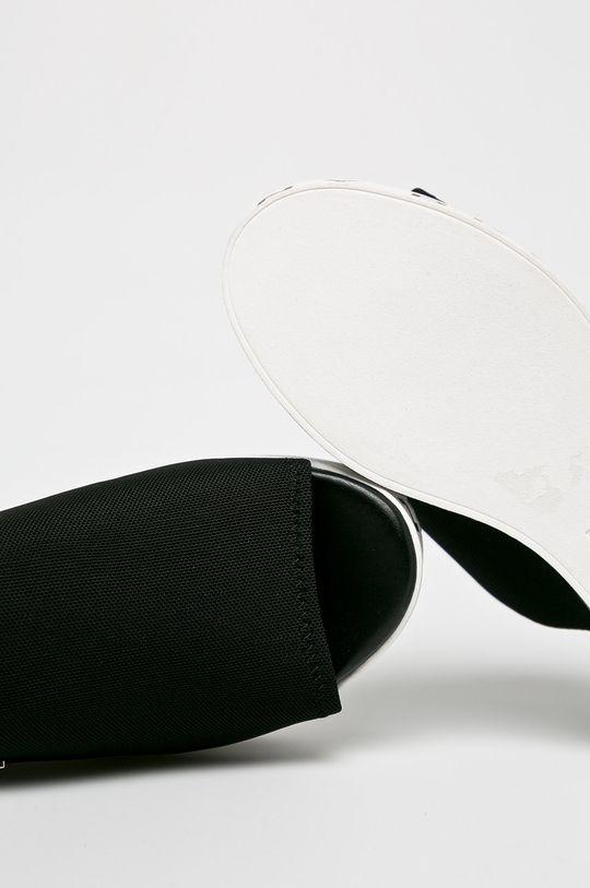 Dkny - Papucs cipő Carli-Slide Sandal  Szár: textil Belseje: szintetikus anyag, textil Talp: szintetikus anyag