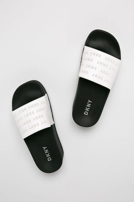 Dkny - Papucs cipő Hampton- Platform S fehér
